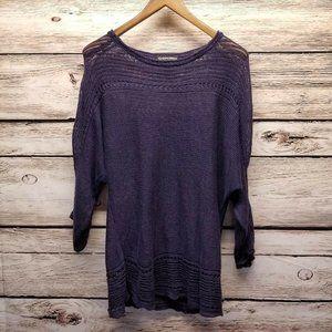 Kokomarina Linen Pullover Loose Knit Sweater